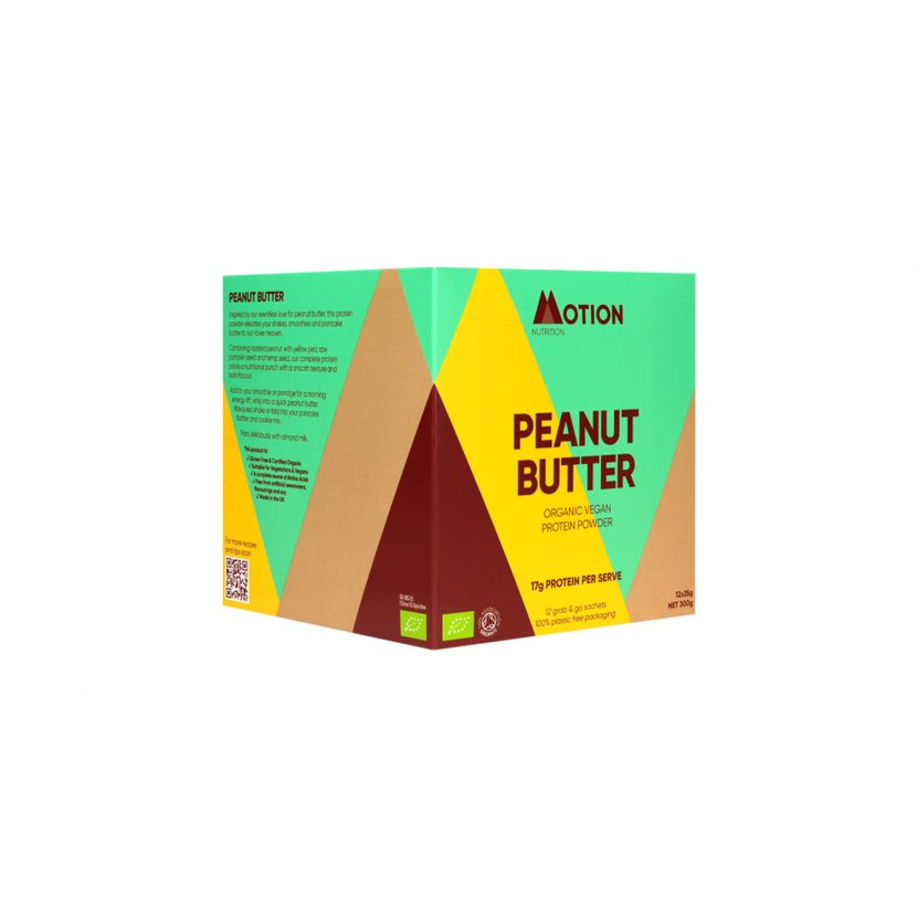 Motion Nutrition Peanut Butter Protein Shake